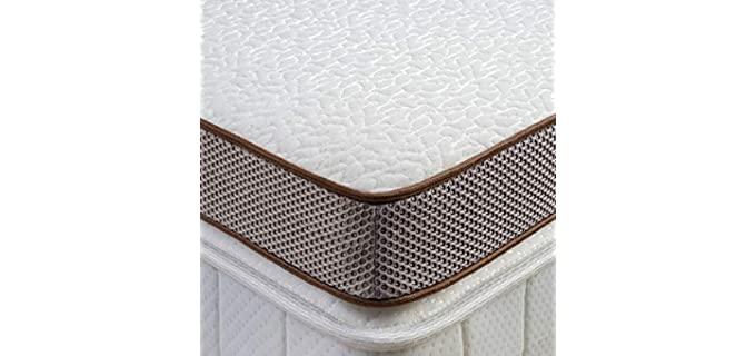 BedStory Memory Foam - Gel Infused Mattress Topper