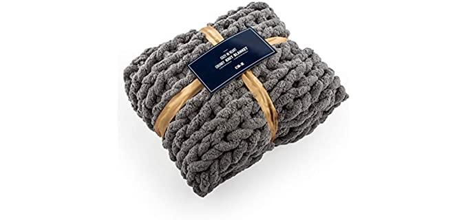 CO-Z Handmade - Chunky Knit Blanket