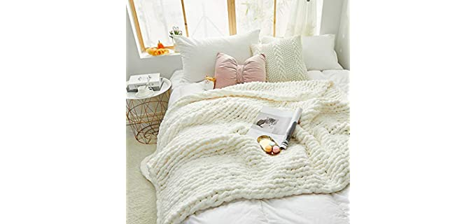 Zituop Cozy - Chunky Knit Blanket