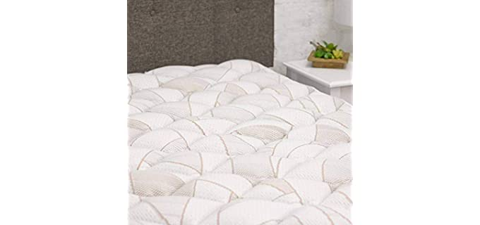 eLuxurySupply Copper Infused - Mattress Topper