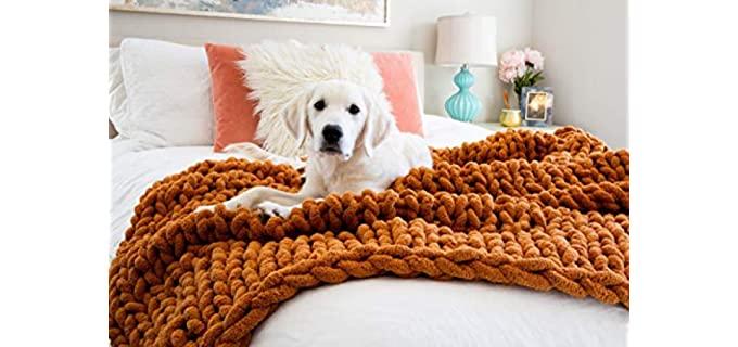 Kaffrey Luxury - Chunky Knit Blanket