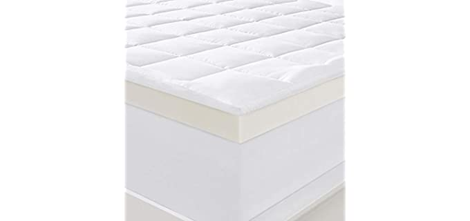 Serta Memory Foam - Queen Mattress Topper