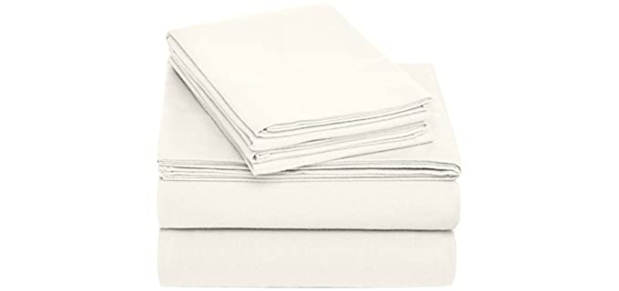 Pinzon King - Cream Flannel Sheets