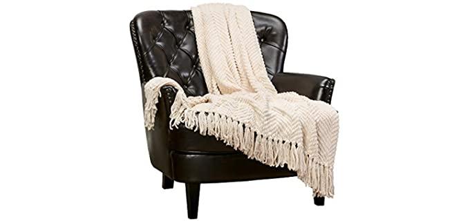 Chanasya Textured - Fluffy Best Knitted Blankets