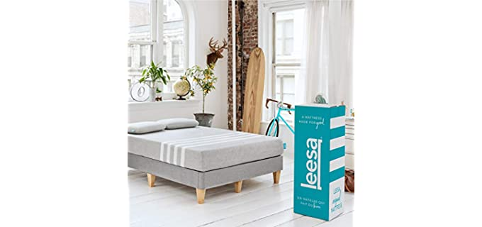 Leesa Full Bodied Mattress - Plush Extra Thick Firm Mattress for Back Support