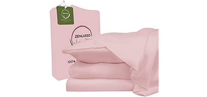 ZENLUSSO Rose Pink - Organic Bedsheet