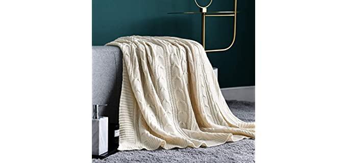 Jinchan Sweater Style - Knitted Blanket
