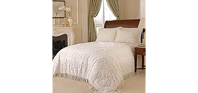 Beatrice Home King - Luxury Chenille Bedspreads