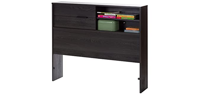 South Shore Laminated - Twin Bed Bookcase Headboards