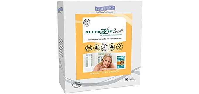 Protect-A-Bed White - AllerZip Mattress Encasement