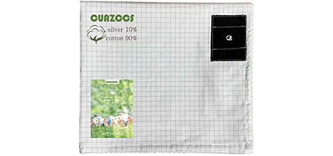 Cuazccs Organic - Silver Fiber Grounding Sheet