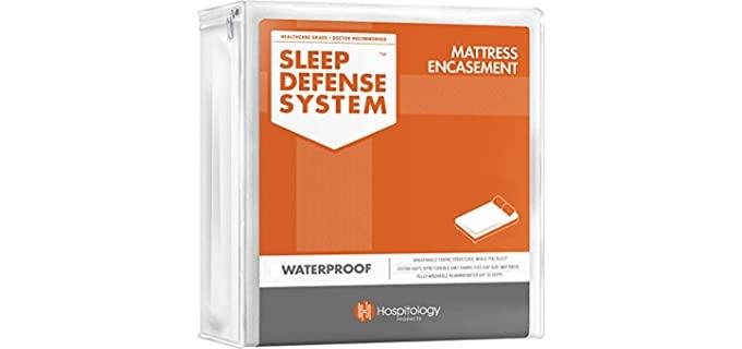 Hospitology Products Polyester - Sleep Defense Mattress Encasement